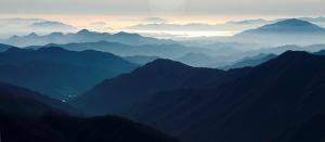 구비구비 산